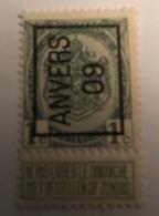 1906 - 1c Anvers - Precancels