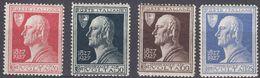 ITALIA - 1927 - Serie Completa Nuova MH: Yvert 196/199; 4 Valori, Come Da Immagine. - 1900-44 Victor Emmanuel III