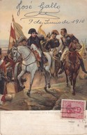 NAPOLEON 1er A FRIEDLAND, VERSAILLES. STENGEL & CO. CIRCULEE 1910 GERMAN LOUSTALAN- BLEUP - Historische Figuren