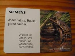 Phonecard Germany O 166 02.95. Siemens, Frog 20.000 Ex. - O-Series : Customers Sets