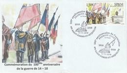 FDC 11 11 2018 Centenaire De L'armistice - FDC