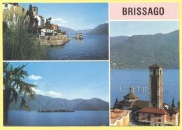 SVIZZERA - SUISSE - HELVETIA - Lago Maggiore - Brissago - Multiviews - Wrote But Not Sent - Svizzera