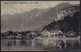 Brienz Dampfschiff Restaurationskarte - BE Bern