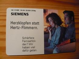 Phonecard Germany O 685 04.94. Siemens 20.000 Ex. - O-Series : Customers Sets