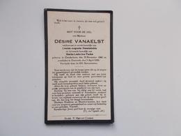 Oud Bidprentje: Désiré VANAELST Wwr Louisa DESAINTOBIN & Maria FOCKE, Couckelaere 29/11/1860 - Oostende 3/4/1929 - Décès