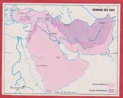Le Drainage Des Eaux En Arabie Saoudite, Syrie, Turquie, Iran, Irak, Afghanistan, Pakistan, Israël ... 1970. - Vieux Papiers
