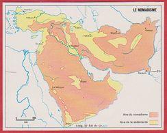 Le Nomadisme En Arabie Saoudite, Syrie, Turquie, Iran, Irak, Afghanistan, Pakistan, Israël ... 1970. - Vieux Papiers