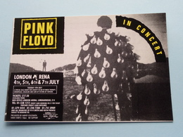 PINK FLOYD In Concert London Arena  ( Music Festival ) Anno 19?? ( See/zie/voir Photo ) ! - Chanteurs & Musiciens