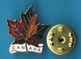 PIN'S //   ** FEUILLE D'ÉRABLE / CANADA ** . (J.C. Ricard INC.) - Città