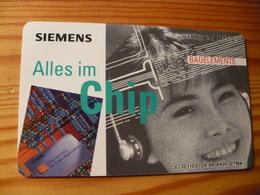 Phonecard Germany O 1103 09.96. Siemens, 8.400 Ex. - O-Series : Customers Sets