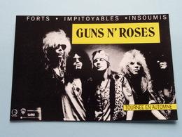 GUNS N' ROSES Tournee En Automne ( WEA ) Anno 19?? ( See/zie/voir Photo ) ! - Chanteurs & Musiciens