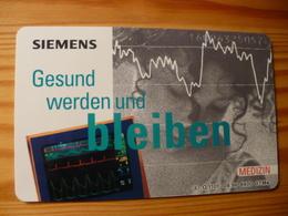 Phonecard Germany O 1101 09.96. Siemens, 8.400 Ex. - O-Series : Customers Sets