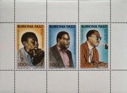 Burkina Faso 1989  Panafrican Film Festival S/S  Scott 872 - Burkina Faso (1984-...)