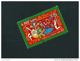 N° 3339 Folklores  Oblitéré Timbre France 2000 - France