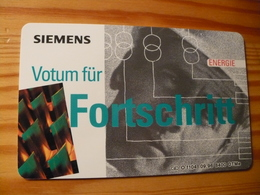 Phonecard Germany O 1104 09.96. Siemens 8.400 Ex. - O-Series : Customers Sets