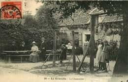 121218A - 61 LA GRAVELLE La Chaumière - Jeu Enfant Balançoire - Autres Communes