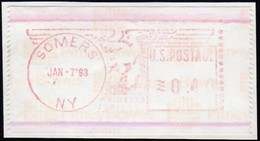 UNITED STATES - Somers NY (SW1243) - Machine Stamps (ATM)