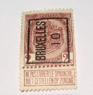 1910 - 2c Bruxelles - Precancels