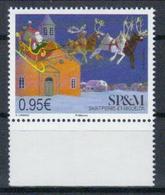 St.Pierre & Miquelon 'Weihnachtsmann Mit Rentier-Schlitten' / SPM 'Santa Claus With Reindeer Sledge' **/MNH 2018 - Weihnachten