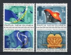 Papua Nueva Guinea 1972. Yvert 213-16 ** MNH. - Papouasie-Nouvelle-Guinée