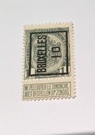 1910 1c Bruxelles - Precancels