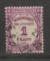 FRANCE Taxe N° YT 59  Cote 3.70 € - Taxes