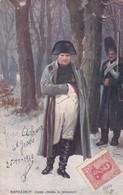 NAPOLEON 1er D'APRES L'ORIGINALL DE MEISSONIER. RAPHAEL TUCK. CIRCULEE 1910 A GERMAN LOUSTALAN- BLEUP - Historische Figuren