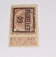 1909 2c Bruxelles - Precancels