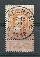 79 Gestempeld WAELHEM (sterstempel) - COBA 8 Euro - 1905 Grosse Barbe