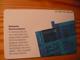 Phonecard Germany K 689 01.92. Siemens 16.000 Ex. - Germany