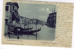VENEZIA CA AL GRANDE DA S. GEREMIA 1900 - Venezia