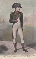 NAPOLEON 1er A LA MALMAISON, D'APRES LE DESSIN D'ISABEY. CIRCULEE 1907 A GERMAN LOUSTALAN- BLEUP - Historische Figuren