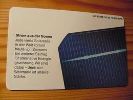 Phonecard Germany K 688 01.92. Siemens 16.000 Ex. - Germany
