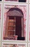 TANZANIA, 2018, MNH, ARCHITECTURE, DOORS OF ZANZIBAR, 1v,OVERPRINT, SCARCE - Architecture