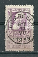 80 Gestempeld HOMBEECK - COBA 15 Euro - 1905 Grosse Barbe