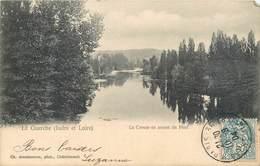 CPA 37 Indre Et Loire LA GUERCHE La Creuse En Amont Du Pont Précurseur - Sonstige Gemeinden