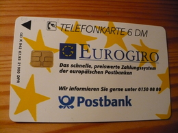 Phonecard Germany K 942 07.93. Postbank 21.000 Ex. - Germany