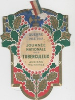 JOURNÉE NATIONALE DES TUBERCULEUX  ANCIENS MILITAIRES   CARTE DE COMMISSAIRE - Militaria