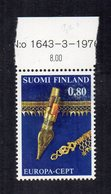 Finlandia - 1976 - Europa  CEPT - Nuovo - Con Bordo Di Foglio - (FDC13292) - Europa-CEPT