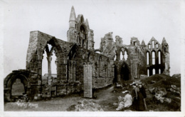 YORKS - WHITBY ABBEY  RP  Y3106 - Whitby