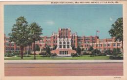 Arkansas Little Rock Senior High School Curteich - Little Rock