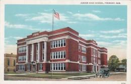 Nebraska Fremont Junior High School Curteich - Fremont
