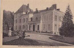 SAINT-SAUVEUR EN PUISAYE - Le Château Des Gouttes - Saint Sauveur En Puisaye