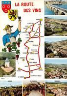Route Des Vins Vin Moisy 1 Chiroubles Juliénas Le Perréon Fleurie Villié Morgon Beaujeu Moulin à Vent - Altri Comuni