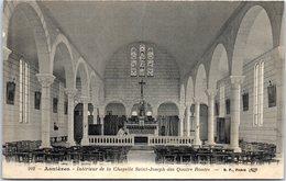 92 ASNIERES-SUR-SEINE - Intérieur De La Chapelle Saint-Joseph Des Quatre Routes - Asnieres Sur Seine