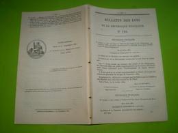 Travaux Canal Du Forez,Loire.Création De Commission Coloniale En Guyane.Taxe Sur Les Chiens.Travaux Publics En Algérie . - Décrets & Lois