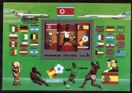 COREE DU NORD  BF   * *     Cup 1982  Football  Soccer Fussball - Coppa Del Mondo