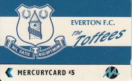 UK - Everton F.C.(PYF018), CN : 5PFLJ, Tirage %2100, Used - [ 4] Mercury Communications & Paytelco