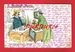 SHAKESPEARE RE STAGED TWO GENTLEMEN OF VERONA ... Singe ... Illustrateur ... écrite En Anglais ... - Cartes Postales