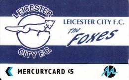 UK - Leicester City F.C.(PYF028), CN : 4PFLW, Tirage %1900, Used - [ 4] Mercury Communications & Paytelco